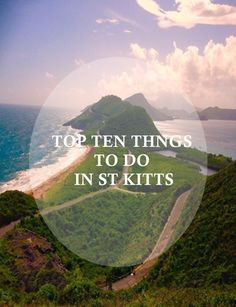 Beach Vacation Destinations : Heading to St. Kitts soon? Check out the Top Ten things to do on the island of St. Make your trip unforgettable! Caribbean Vacations, Caribbean Cruise, Beach Vacations, Family Vacations, Tonga, St Kitts Island, Nevis Island, Jamaica, Cuba