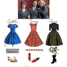 Love the fashion on Call the Midwife!