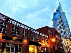 The Johnny Cash Museum – 119 Third Avenue South, Nashville, TN 37201 (615) 256-1777