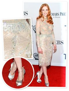 Jessica Chastain's See-Through Dress: 'I Could Do Aerobics in It' http://news.instyle.com/2012/06/12/jessica-chastain-see-through-crystal-marios-schwab-dress/