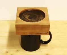 Coffee enthusiasts craving a unique coffee-drinking experience may want to consider the Canadiano, a pour-over wooden coffee-maker that aims to. Coffee Club, Coffee Brewer, Coffee Lovers, Coffee Shop, Coffee Equipment, Brewing Equipment, Pour Over Coffee Maker, Natural Coffee, Coffee Crafts