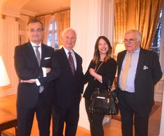 The best restaurant in Washington, DC is at the residence of The Ambassador of France Gérard Araud.