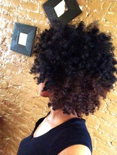 looks like a twist out...I love it whatever it is