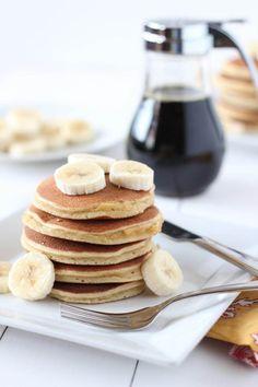 (gluten-free, paleo) Classic Paleo Pancakes | www.downshiftology.com