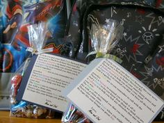 Welcome Back survival kits for students