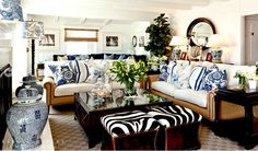Calling it Home: Blue & White Bash | Barclay Butera
