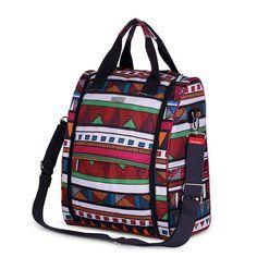 Nylon diaper backpack fashion diaper bag backpack high capacity multifunctional baby bag