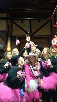 A toast to Julia on the Music City Pub Crawl, Nashville's #1 bachelorette party destination.