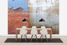 Rusty Metal Wall - Tapetit / tapetti - Photowall