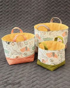 Small Sewing Projects, Sewing Hacks, Sewing Tutorials, Sewing Crafts, Diy Bag Designs, Diy Bags Patterns, Fabric Basket Tutorial, Diy Storage Boxes, Willow Weaving