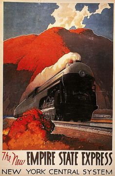 American Train Poster Painting - American Train Poster Fine Art Print ~Via mike butch Train Posters, Railway Posters, Retro Poster, Train Art, Train Pictures, Kunst Poster, Art Deco Posters, Vintage Travel Posters, Unique Art