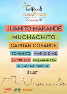 Tarifeando Fest (Juanito Makandé, Muchachito, Tomasito,...) | ticketea