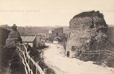 Ponte Nomentano visto dalla vecchia via Nomentana Anno: 1860 ca Old Pictures, Old Photos, Best Cities In Europe, Roman History, Planet Earth, City Photo, Retro, Antiques, Places