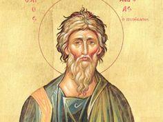 Andrew the Apostle icon Catholic Saints, Patron Saints, Catholic News, Catholic School, Andrew The Apostle, Icon Icon, Religion Catolica, Russian Icons, Santos