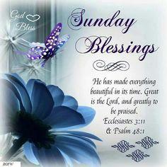Sunday #blessings
