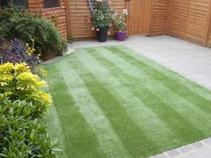 What to learn how to stripe your lawn? It looks great and encourages healthy grass growth, too.