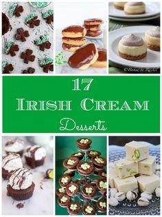 17 Irish Cream Desserts... @Virginia Kraljevic Marion this one is for you