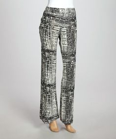 Another great find on #zulily! Black Palazzo Pants #zulilyfinds