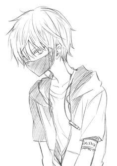 how to draw anime boy step - cute anime boy drawing Anime Boy Sketch, Anime Drawings Sketches, Manga Drawing, Manga Art, Cute Drawings, Anime Art, Drawings For Boys, Manga Anime, Anime Lindo