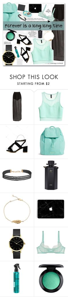 """""""'Forever and Always'"""" by fashionablemy ❤ liked on Polyvore featuring H&M, Vera Bradley, Humble Chic, Gucci, L'Agent By Agent Provocateur, Love Quotes Scarves, MAC Cosmetics and Polaroid"""