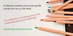 Dictados cortos con palabras llanas para niños School Staff, Teaching Kids, Maybelline, Homeschool, Education, Romance, Spanish Class, Kids Learning Activities, Kids