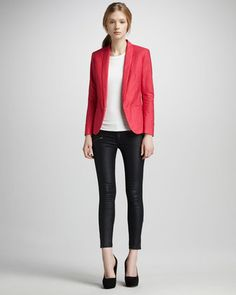 fashion & style - ShopStyle: Rag and Bone Coated Denim Leggings