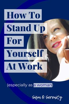 How To Stand Up For Yourself At Work (escpecially as a woman)  Tips on how to be confident, stand up for yourself and gain the respect of your colleagues. Personal Values, You At Work, Job Security, Stand Up For Yourself, Confidence Building, Job Opening, The Thing Is, How To Run Longer, Confident