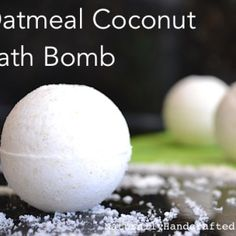 Easy Homemade Bath Bombs, DIY Oatmeal Bath Bombs
