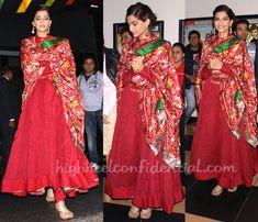 Sonam Kapoor in Gaurang suit