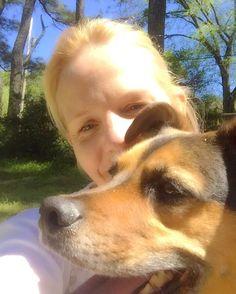 Just a girl and her best friend  #woMANsbestfriend #adoptdontshop #optout #naturelover