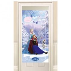 Disney Frozen Ice Skating Party Door Banner - Decorations & Accessories - Frozen Party - Party Themes A-Z - Kids' Party