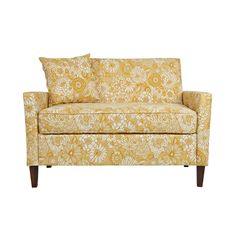 angelo:HOME Sutton Vintage Sun-washed Floral Tan Loveseat - Overstock™ Shopping - Great Deals on ANGELOHOME Sofas & Loveseats