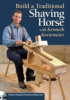Build a Traditional Shaving Horse - Woodworking, Shaving Horse, Tools  | ShopWoodworking