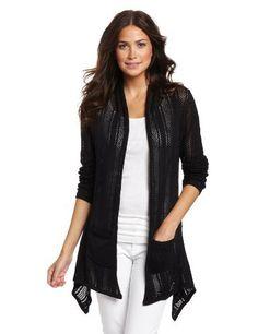 Roxy Juniors Open Sleeve Cardigan Roxy. $34.99. 100% cotton. Knit pointelle. Hand Wash. Long sleeve