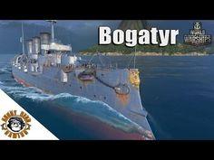 World of Warships: The Bogatyr - YouTube