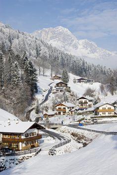 Winter in Ramsau, Germany