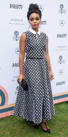 InStyle's Look of the Day picks for January 04, 2017 include Janelle Monae, Ruth Negga and Michelle Williams.