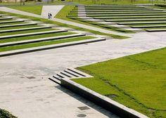 Contemporary parks in Spain: Parque Atlántico de las Llamas by Batlle y Roig…