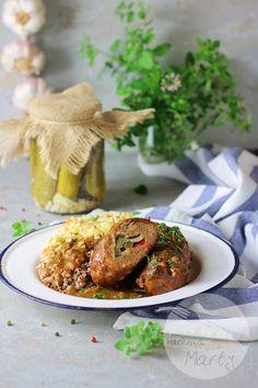 Roladki śląskie z mięsa mielonego Tandoori Chicken, Ethnic Recipes, Blog, Blogging