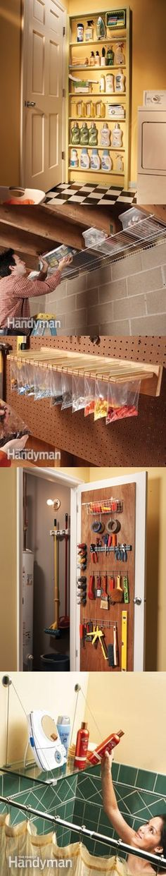 12 Simple Storage Solutions--Smart ways to expand and organize your storage space