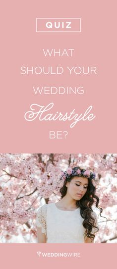 Tousled low-do? Braids? Classic bun? There are so many hairstyles for brides and bridesmaids to choose from - take the @weddingwire #quiz to find out which style fits you best!