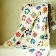 afghan crochet white - Google Search