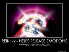 Reiki Benefits No 3 - Helps Release Emotions