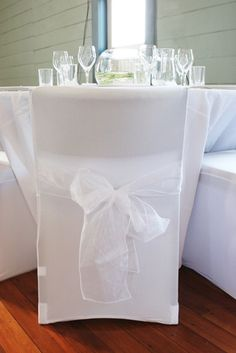 How to Sew Chair Covers for a Wedding