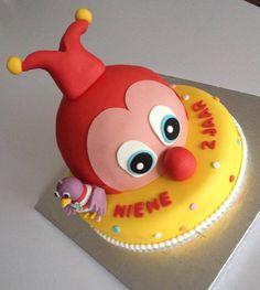 Cindy Van Boxtel Westerburger maakte deze schitterende Jokie en Jet-taart voor de 2e verjaardag van Niene