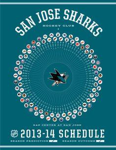 San Jose Sharks 2013-14 Schedule