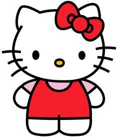 free hello kitty printable templates - google search | kid 2 kid | hello kitty tattoos, hello