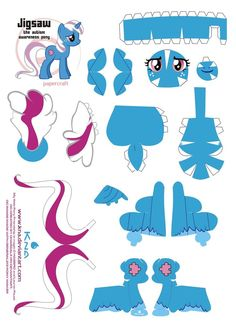 my little pony papercraft - Google Search