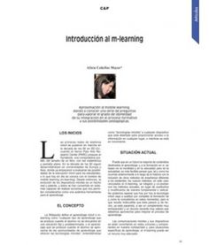 mlearning, m-learning, mobile learning, alicia cañellas, ccp, artículo
