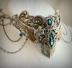 egyptian collar by *harlequinromantique on deviantART